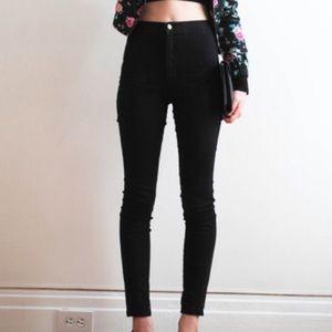 American Apparel high waist jeans sz L large